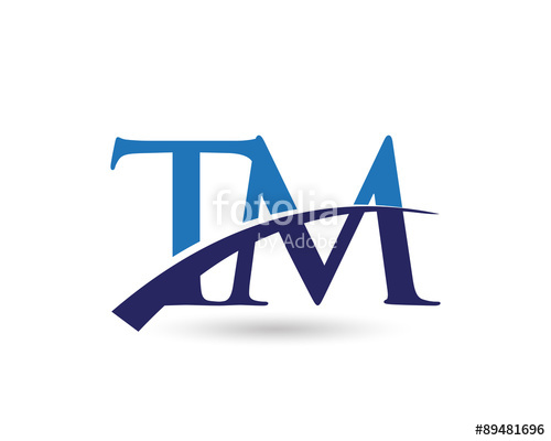 500x400 Tm Logo Letter Swoosh Stock Image And Royalty Free Vector Files