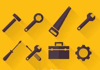 352x247 Du Vecteur Gratuit Vector Tools Icon Set