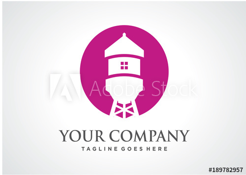 500x357 Home Torrent Logo Template Design Vector, Emblem, Design Concept