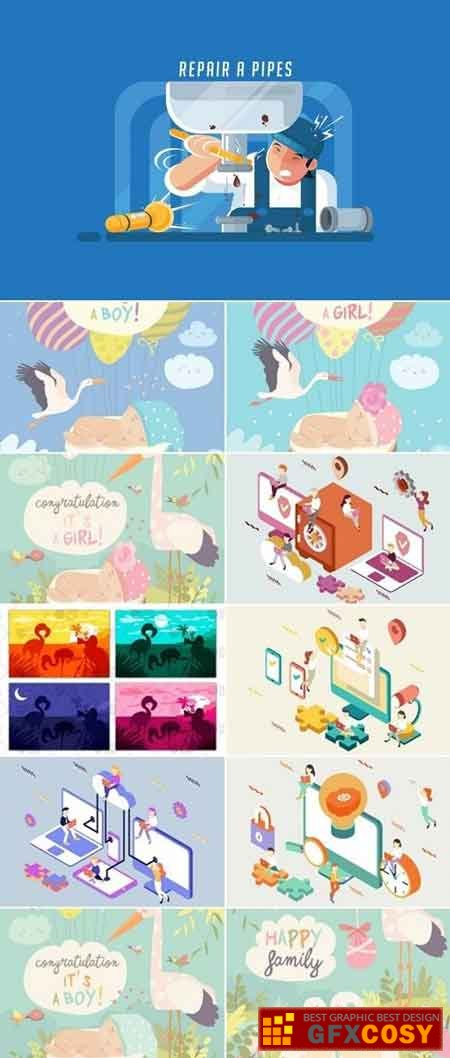 450x1058 Vector Bundle 66 Free Download Photoshop Vector Stock Image Via