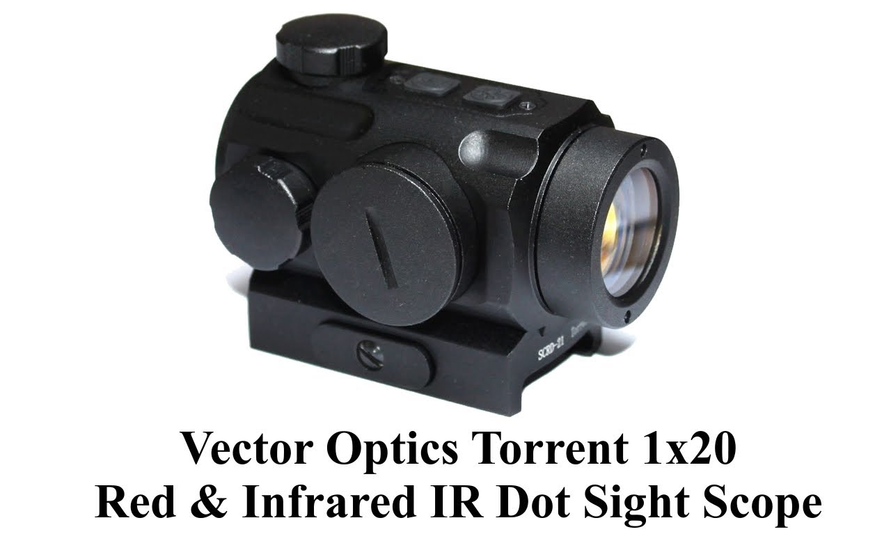 1280x800 Vector Optics Torrent 1x20 Red Amp Infrared Ir Dot Sight Scope
