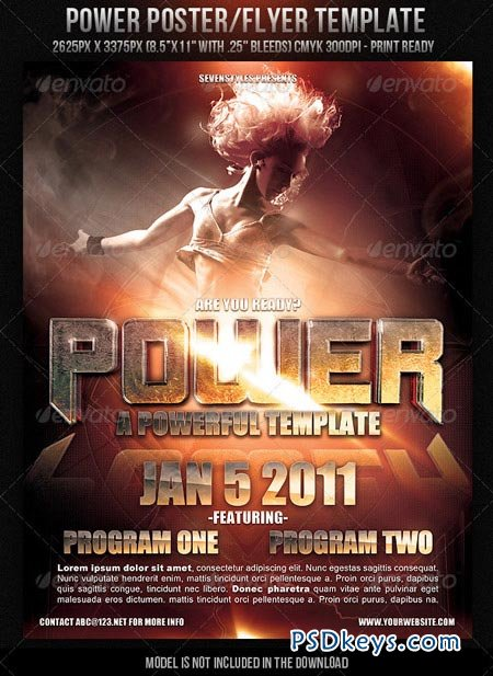450x617 Flyer Template Torrent Power Poster Flyer Template 149732 Free