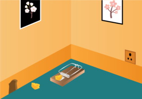 286x200 Mouse Trap Free Vector Art