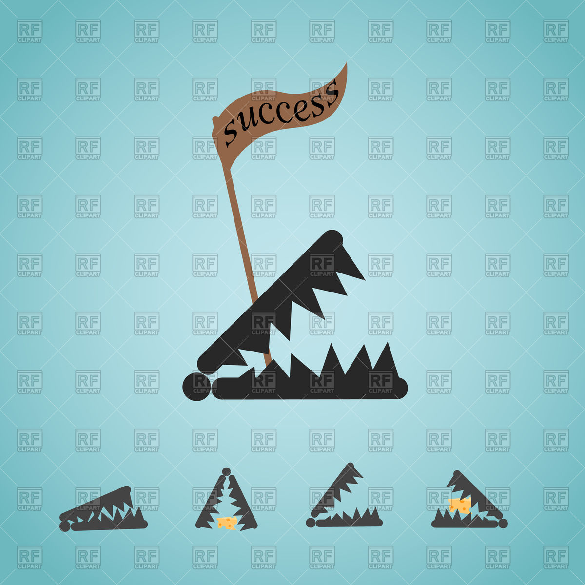 1200x1200 Business Trap Vector Image Vector Artwork Of Objects Dar Rya