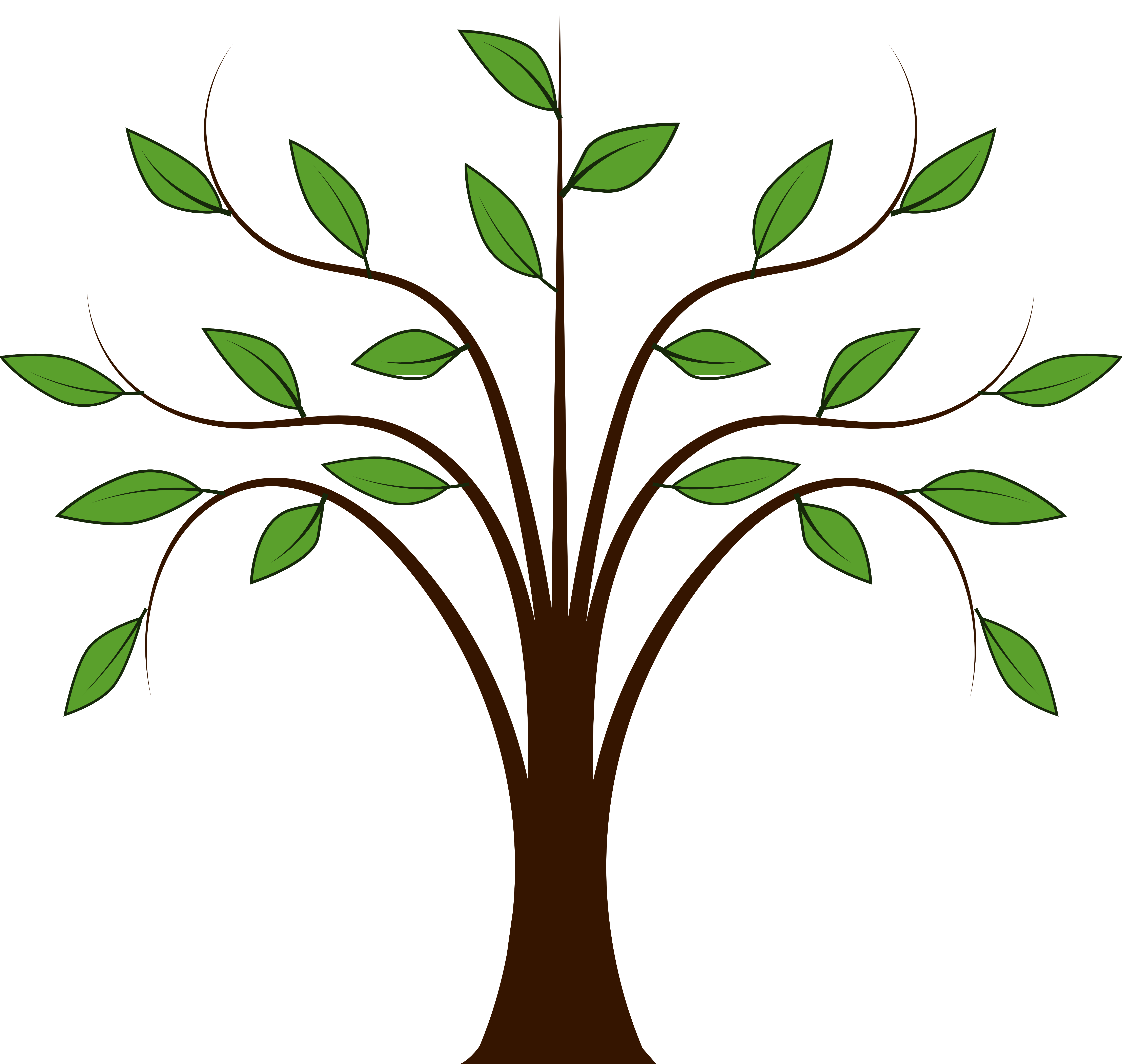 5555x5270 Vector Tree Clipart Freeuse Download