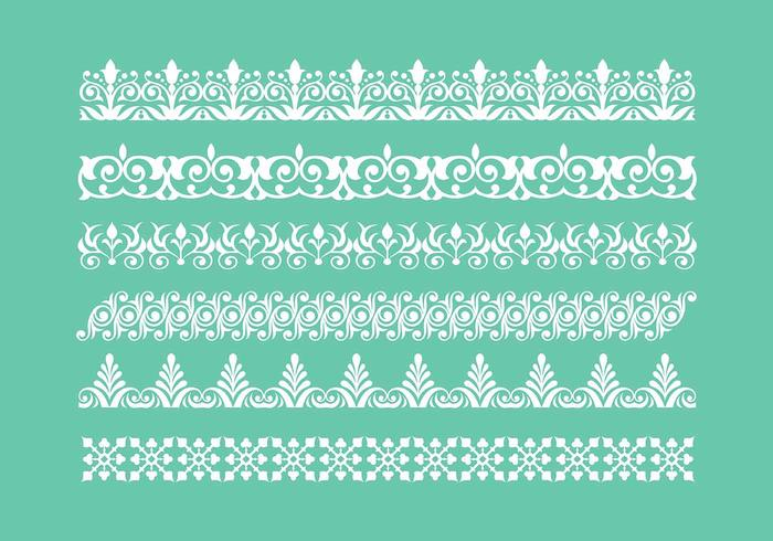 700x490 Free Lace Trim Icons Vector