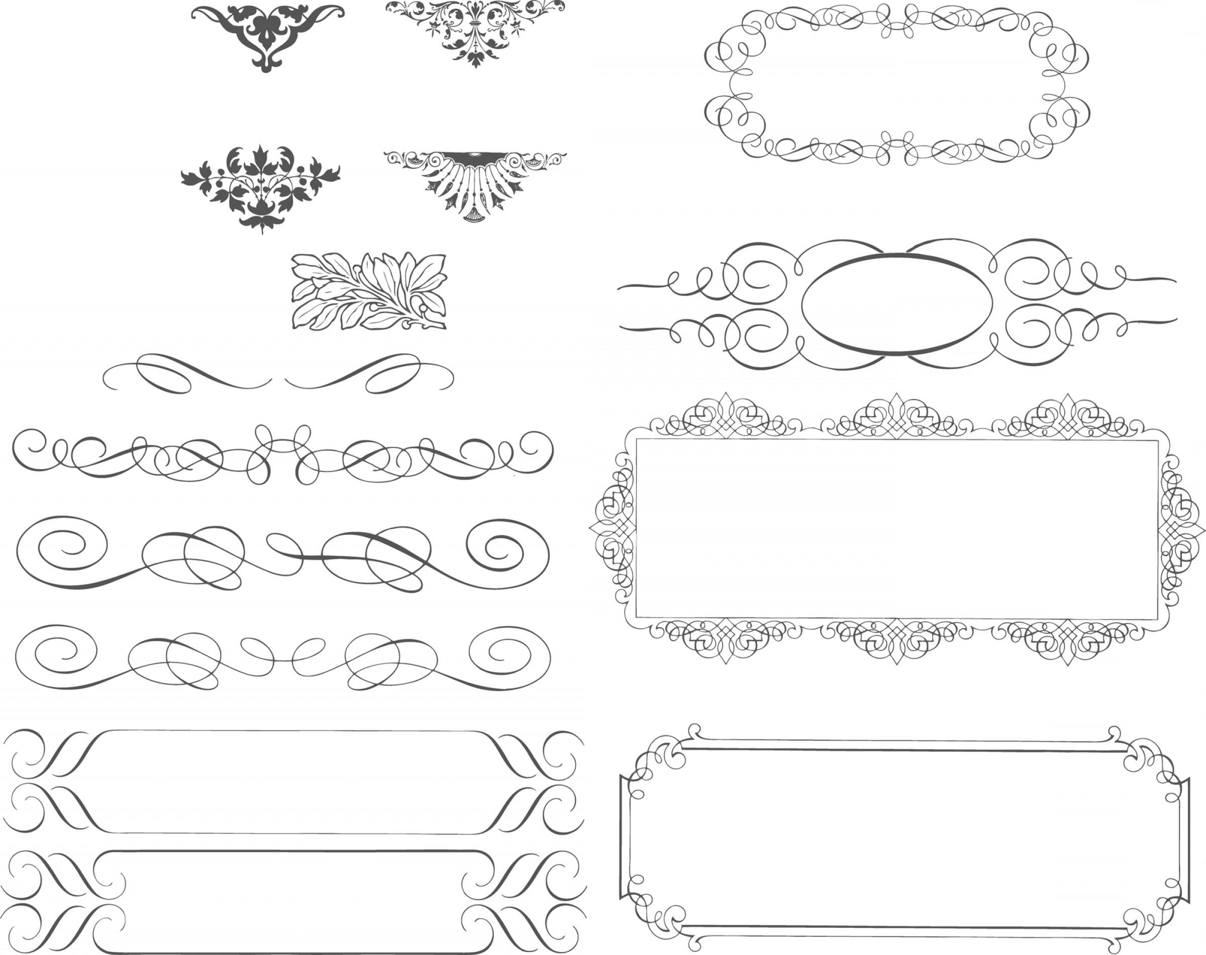 2400x1900 Succinct Lace Trimming Vector Source Material Succinct Shopatcloth