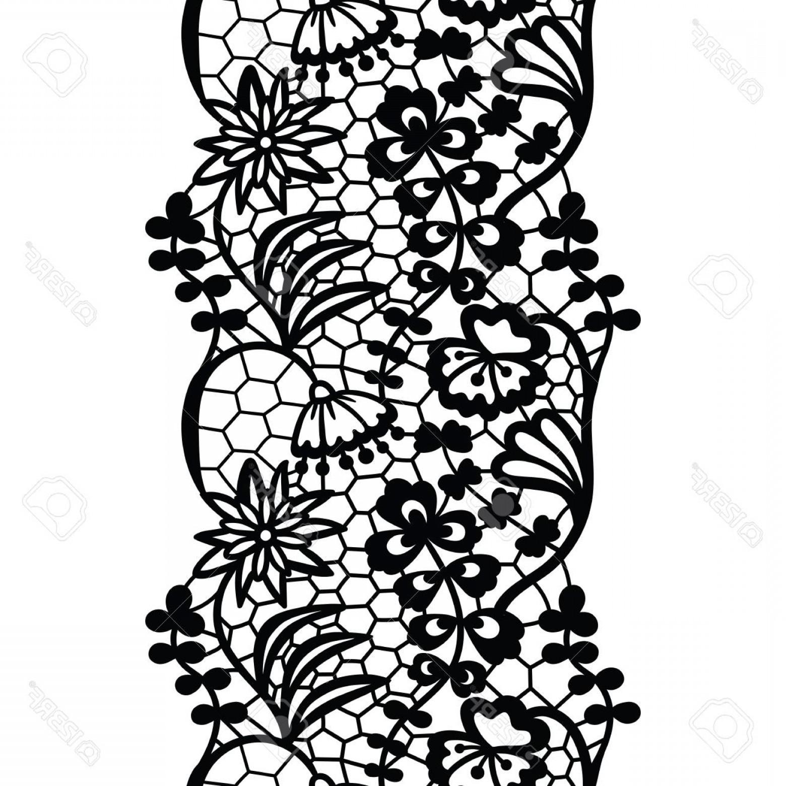1560x1560 Black Lace Trim Vector Shopatcloth