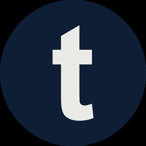300x300 Tumblr Icon Logo Vector (.eps) Free Download