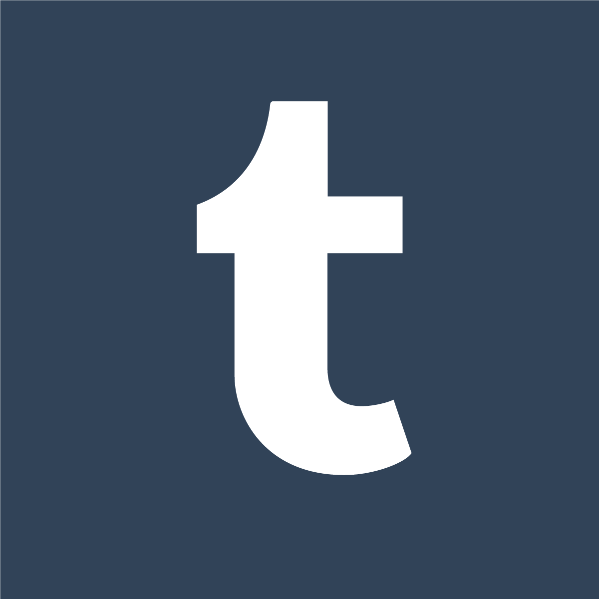 1200x1200 Tumblr Square Icon Logo Vector Free Vector Silhouette Graphics