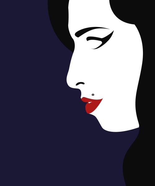 500x600 Amy Winehouse Vector Tumblr