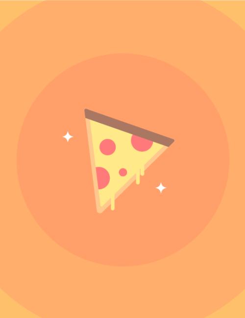 500x648 Pizza Vector Tumblr