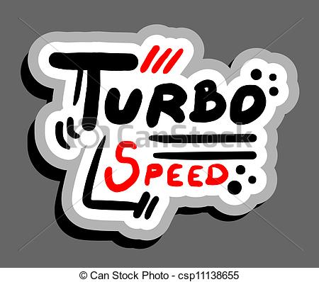 450x398 Turbo Speed. Creative Design Of Turbo Speed.