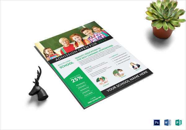 600x420 Tutoring Flyer Template New 27 School Flyer Template Free Psd Ai