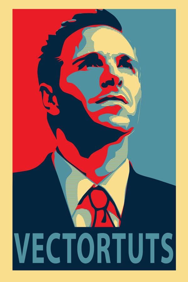 600x899 Create An Inspirational Vector Political Poster