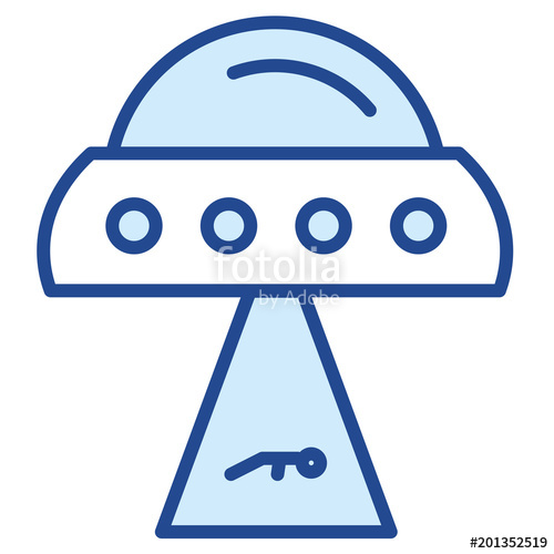 500x500 Ufo Vector Icon Stock Image And Royalty Free Vector Files On