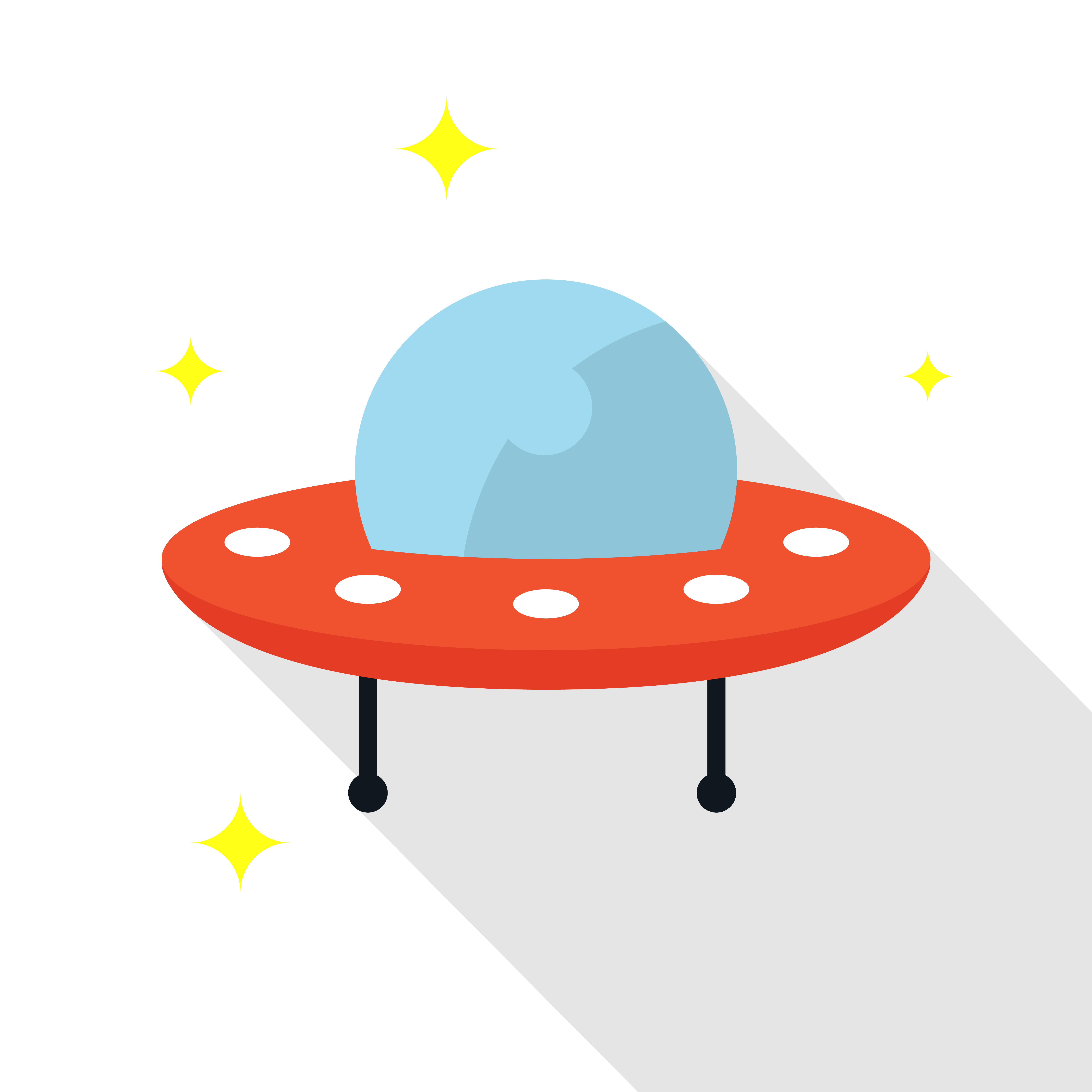 6250x6250 Unidentified Flying Object Paper