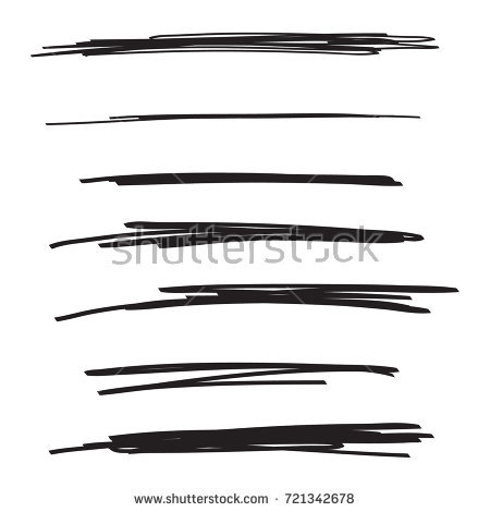 450x470 Drawn Vector Underline 3472998