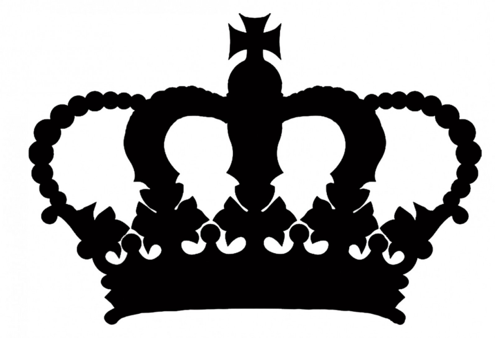 1593x1088 Unique Queen Crown Silhouette Vector Images Geekchicpro