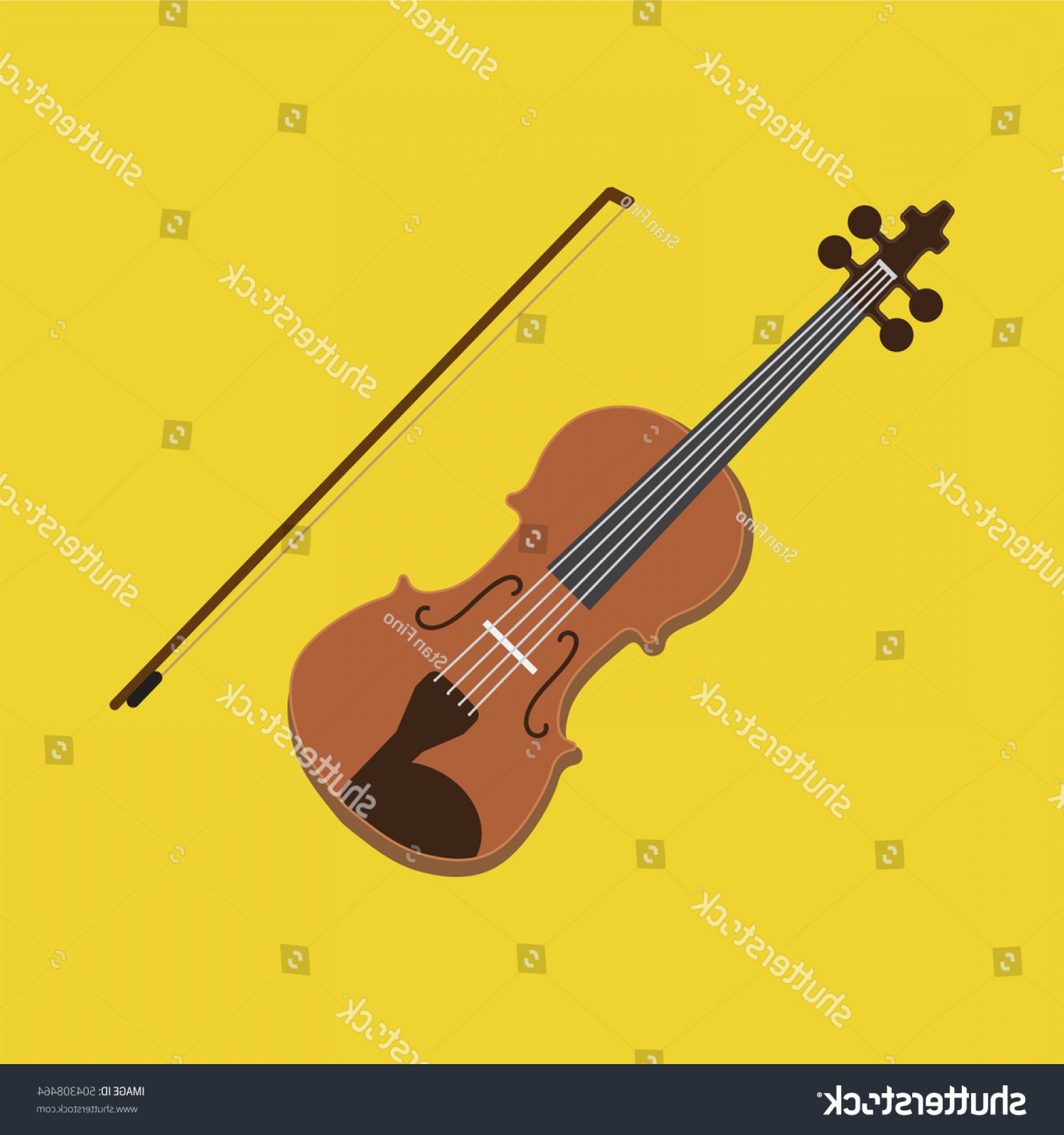 1800x1920 Violin Icon Vector Illustration Musical Instrument Shopatcloth