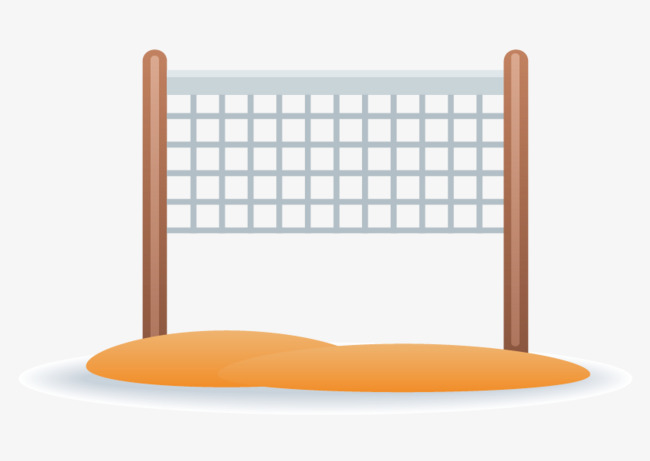 650x461 Vector Beach Volleyball Net, Beach Vector, Volleyball Vector