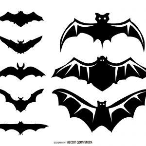 300x300 Bat Stencil Fresh Bat Vector Amp Graphics To Download