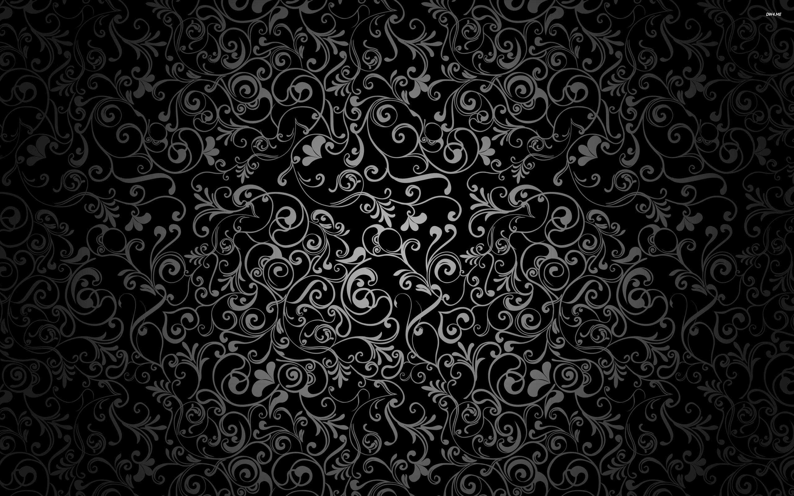2560x1600 Floral Pattern Wallpaper