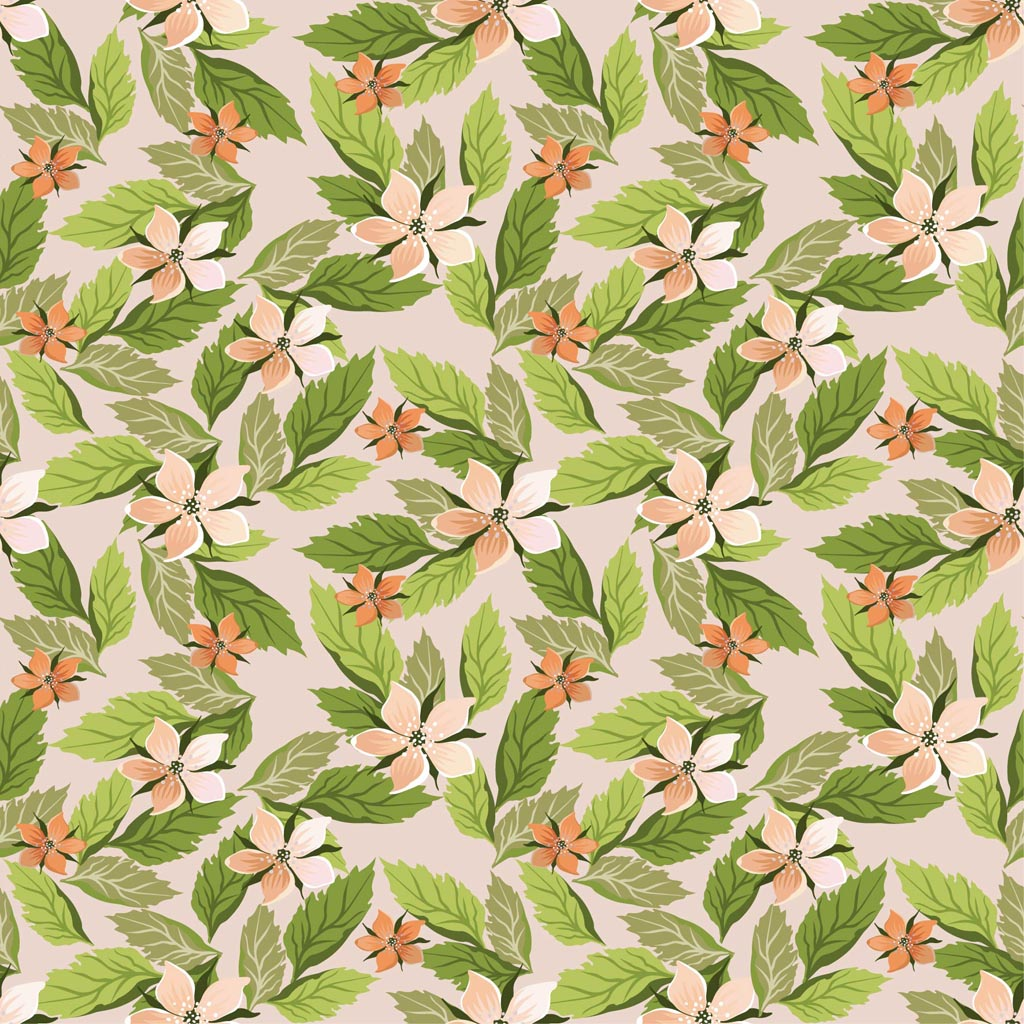 1024x1024 Flowers Wallpaper Pattern Vector Art Amp Graphics