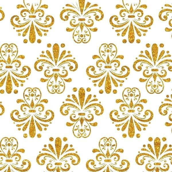 600x600 Gold Pattern Wallpaper Gold Pattern Background Background