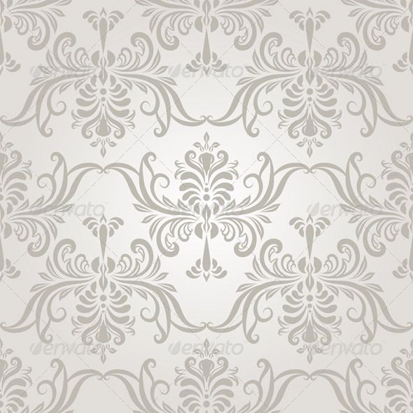 590x590 Vintage Wallpaper Seamless Pattern Vector Seamless Vintage