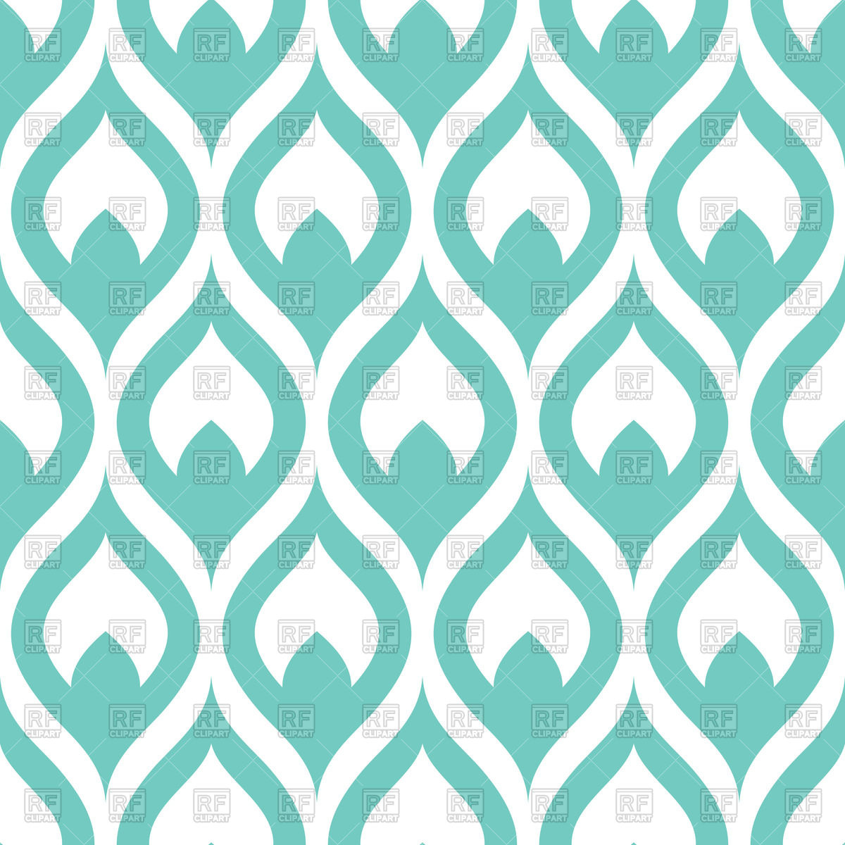 1200x1200 Abstract Simple Pattern From Classic Wallpaper Vector Image