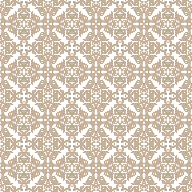 640x640 Floral Pattern. Wallpaper Baroque, Damask. Seamless Vector