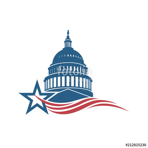 500x500 Unated States Capitol Building Icon In Washington Dc Stock Image