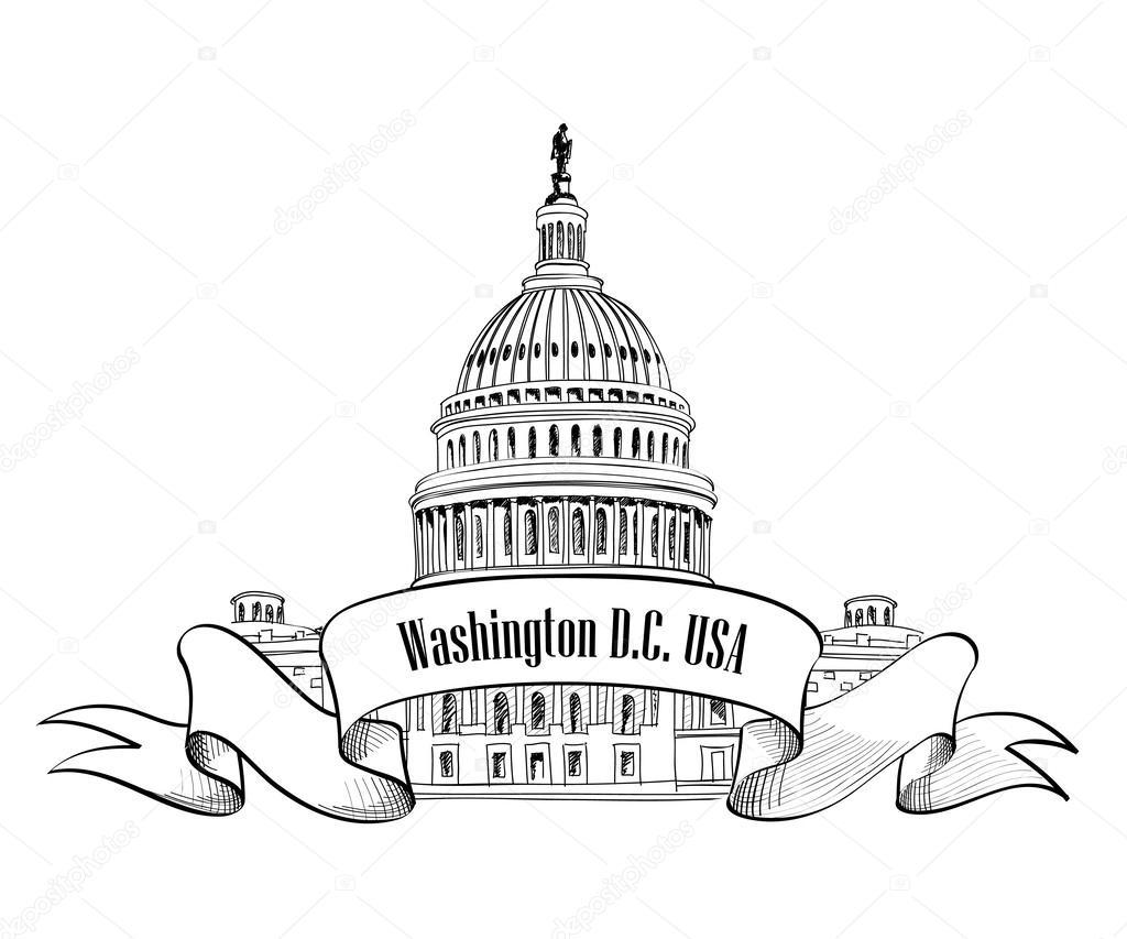 1024x853 Washington Dc Clipart Vector ~ Frames ~ Illustrations ~ Hd Images