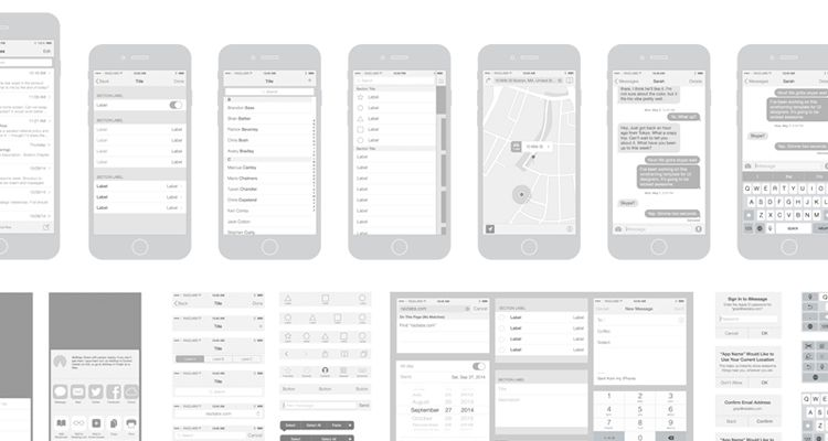750x400 50 Free Wireframe Templates For Mobile, Web And Ux Design