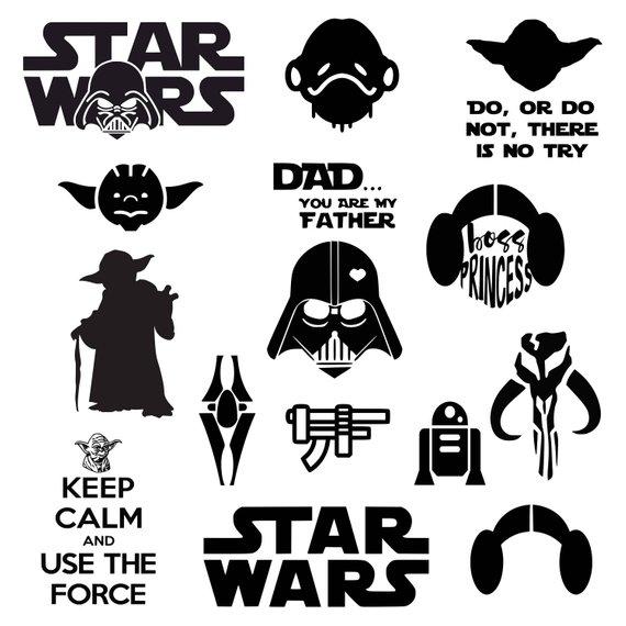 570x570 Star Wars Svg Darth Vader Svg Master Yoda Svg Princess Leia Etsy