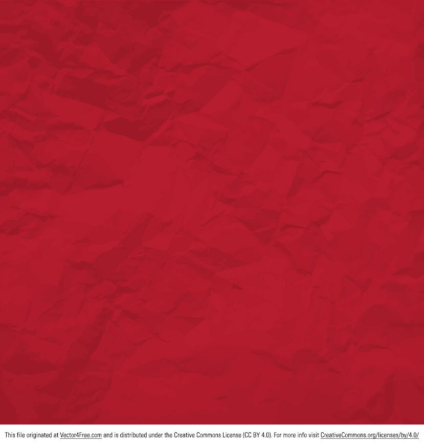 829x869 Red Crumpled Paper Vector Vector4free Vector Leather