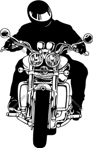 315x500 Motorcycle Rider Clipart And Vectorart Vehicles