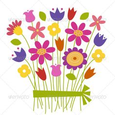 236x236 7 Best Vectores De Flores Images Vector Design