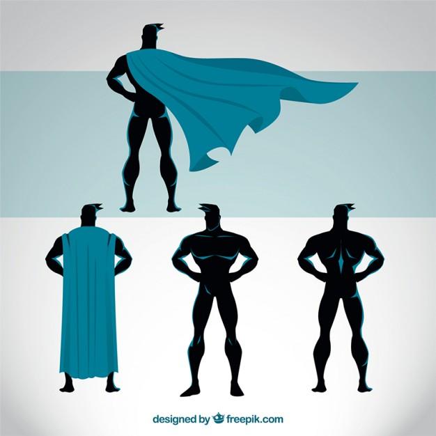 626x626 Capa Superheroe Fotos Y Vectores Gratis
