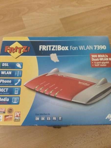 454x605 Fritz! Box 7390 Wlan Modem Router Adsl Vdsl Sra Vectoring, 58