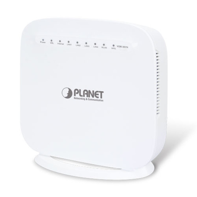 650x650 Planet Vdr 301n Adslvdsl Router, G.993.5 Vectoring, Wifi 2,4ghz