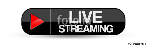 500x161 Live Streaming Button Stock Image And Royalty Free Vector Files