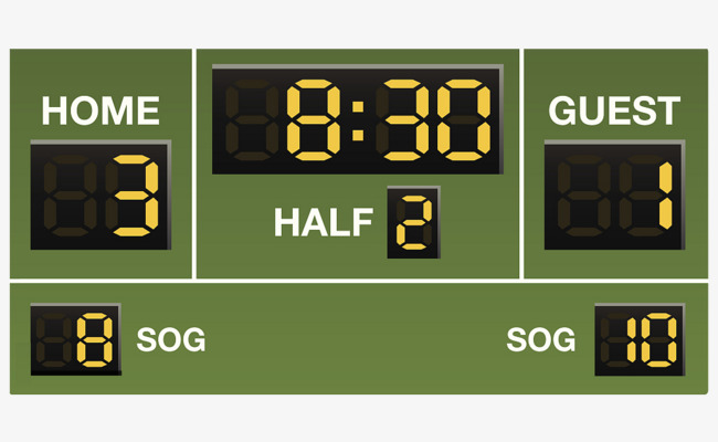 650x400 Vector Live Scoreboard, Fraction, Score, Scoreboard Png Image And