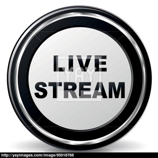 512x512 Vector Live Stream Icon Vector