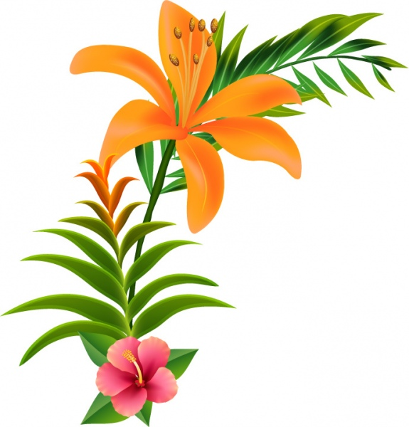 575x600 Flower Vector Live Green You Can Use Free Vector In Adobe