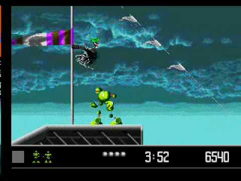 480x360 Vectorman (Sega Genesis) Gameplay