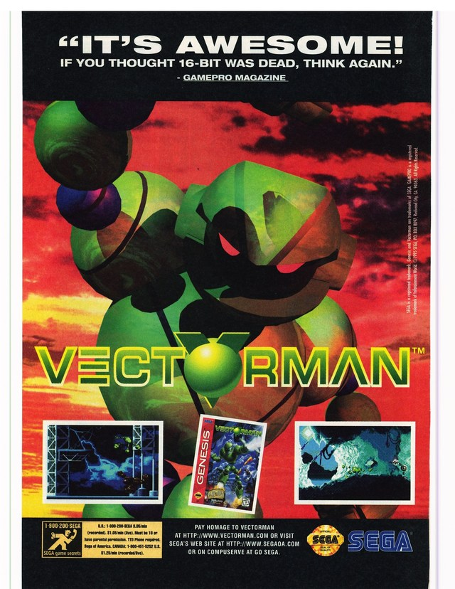 640x828 Vectorman Download Game Gamefabrique