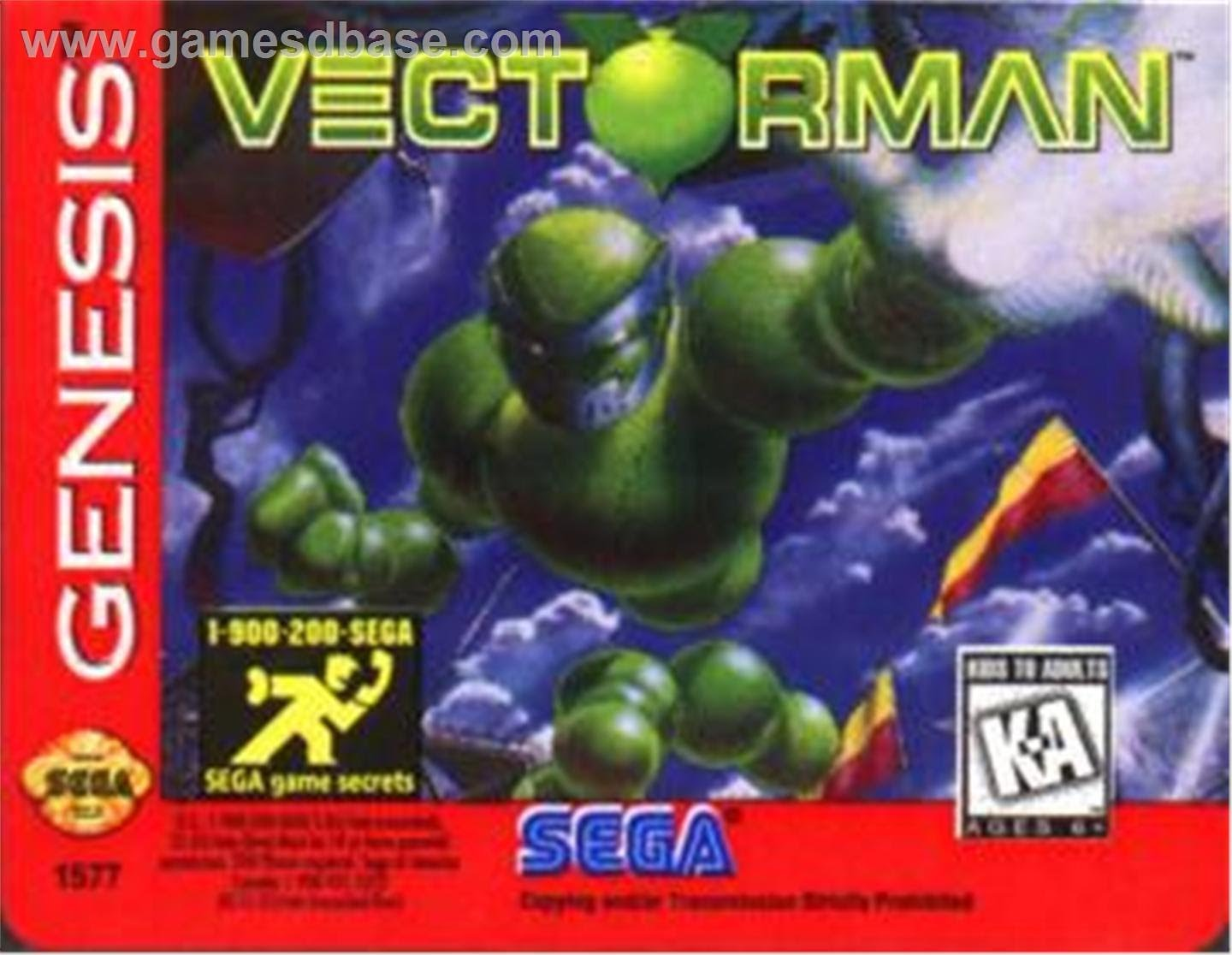 1440x1116 Vectorman Ost Original Soundtrack