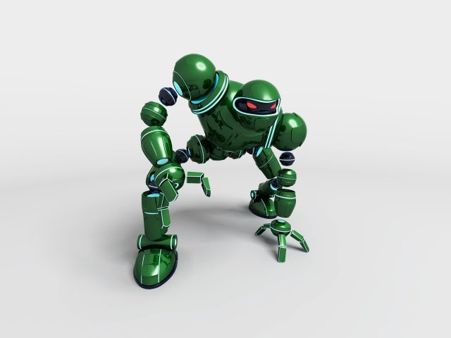 640x480 Vectorman 3d Models